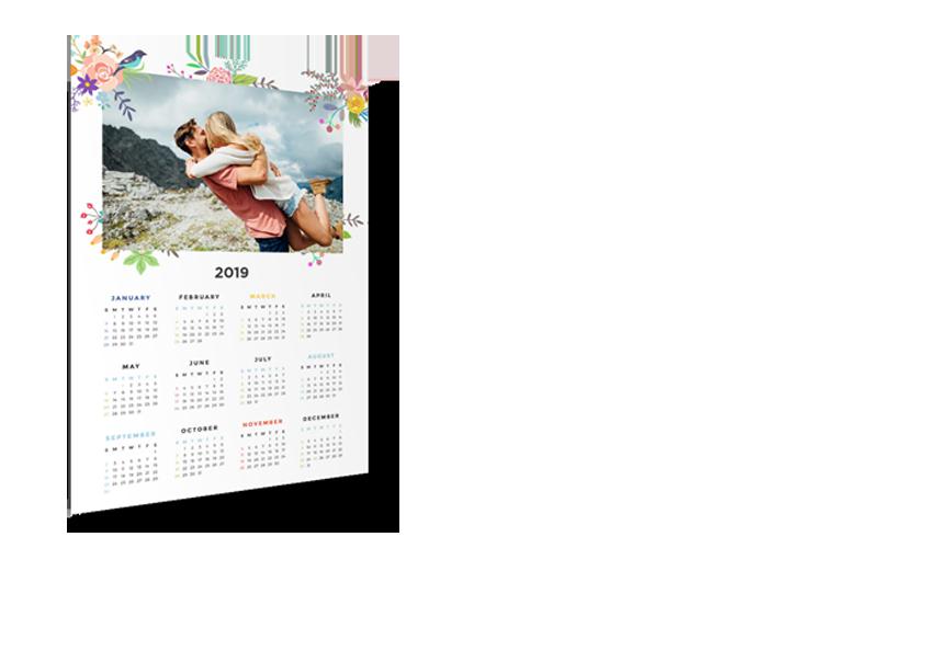Kalendář nástěnný roční 2019