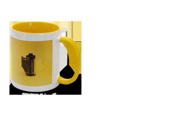 Hrnek žlutý